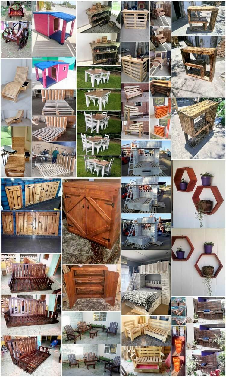 Amazing Uses for Old Wood Pallets in the Home
