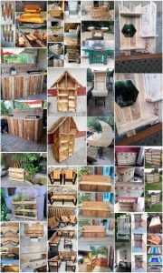 Breathtaking Wooden Pallets Recycling Projects