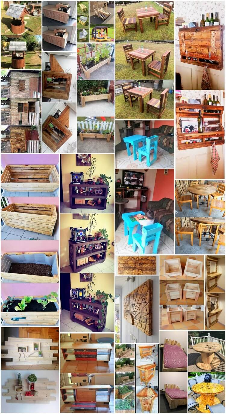 Creative DIY Recycling Ideas for Shipping Wooden Pallets