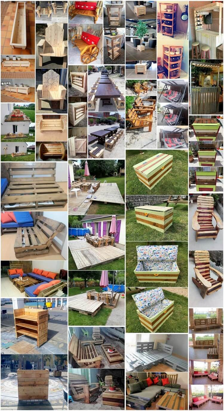 Genius Hacks for Recycling Old Wood Pallets
