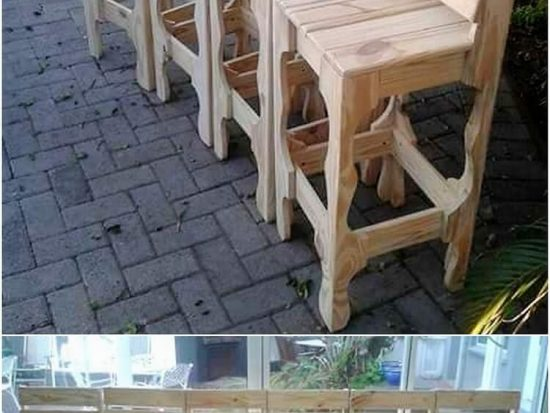 Fantastic Wood Pallet Creations for a Refreshing Spring