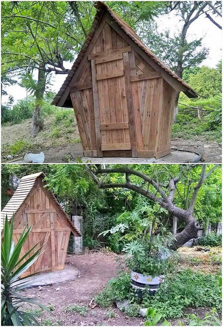 Pallet Garden House