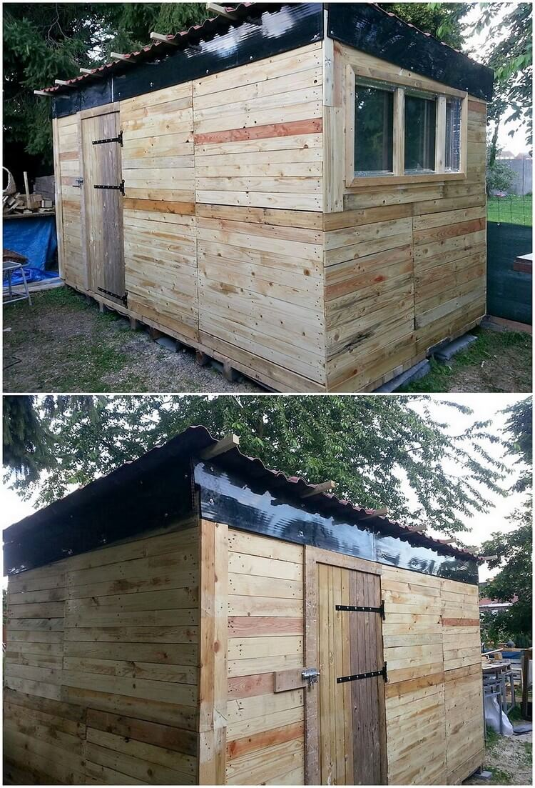 Pallet Outdoor House