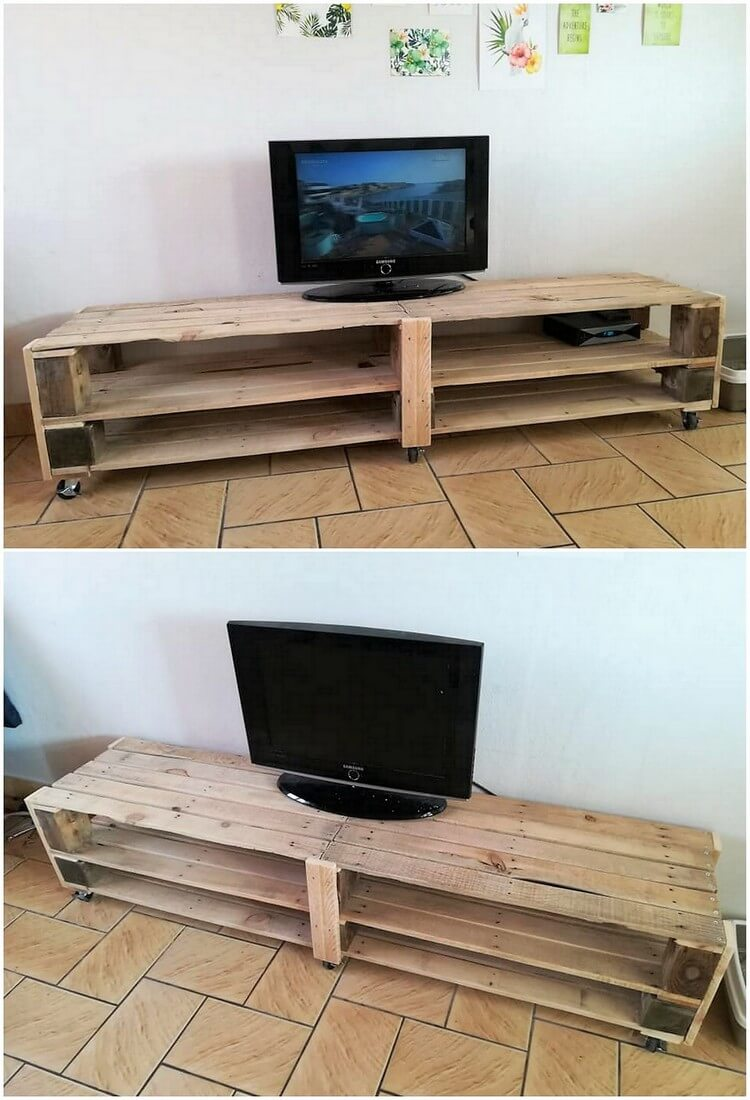 Pallet TV Stand or Media Table