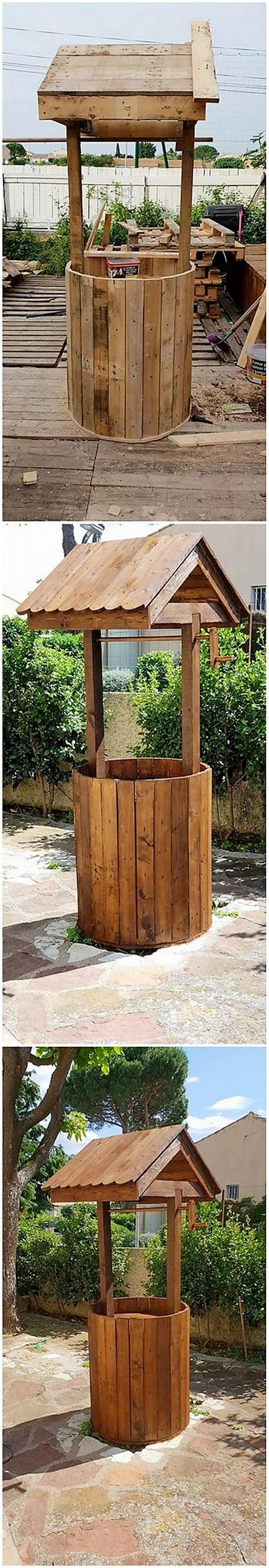 Pallet Wishing Well