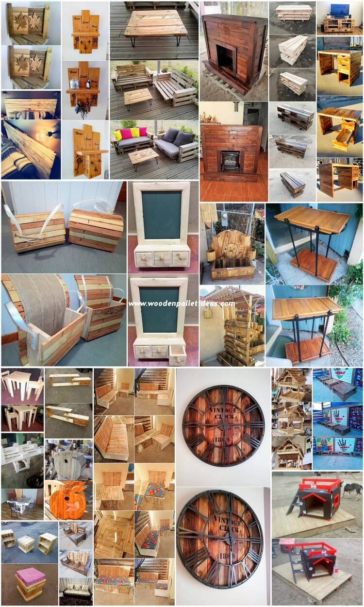 Creative DIY Pallet Recycling Ideas and Projects