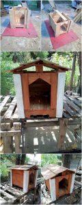 DIY Pallet Pet House