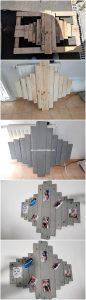DIY Pallet Wall Decor Idea
