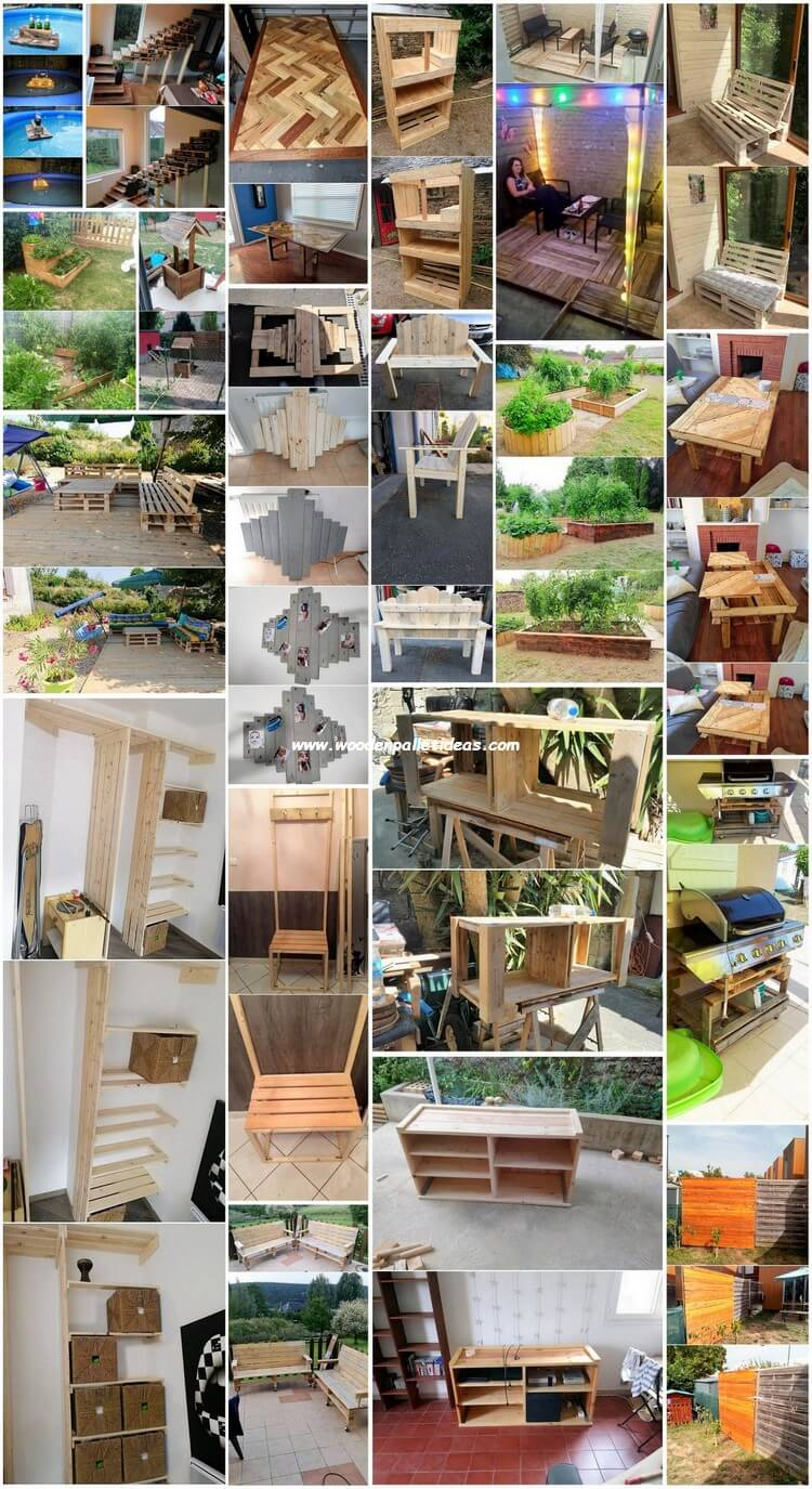 DIY Wooden Pallet Ideas for Your Home and Garden