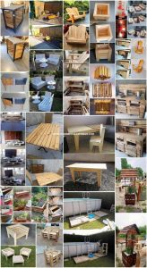 Easy Woodworking Ideas Using Old Wood Pallets