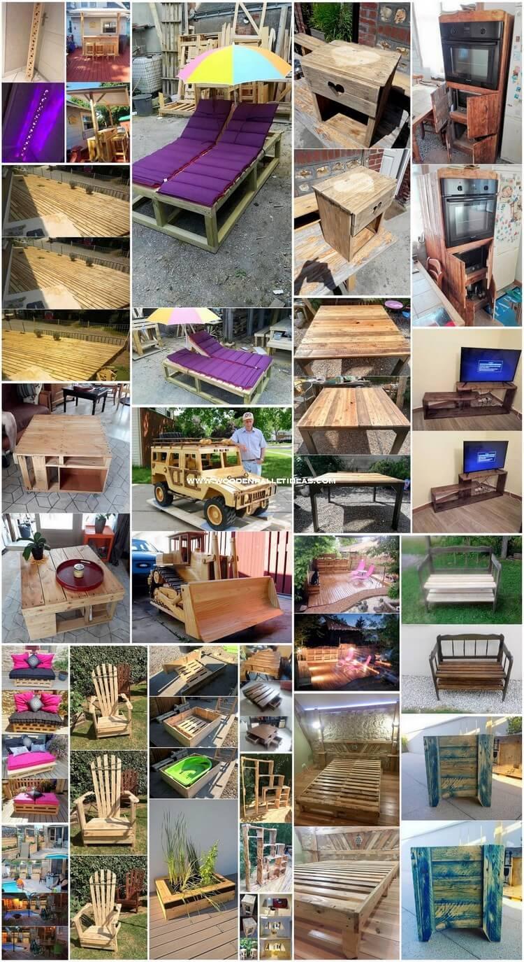 Ingenious DIY Wooden Pallet Reusing Ideas