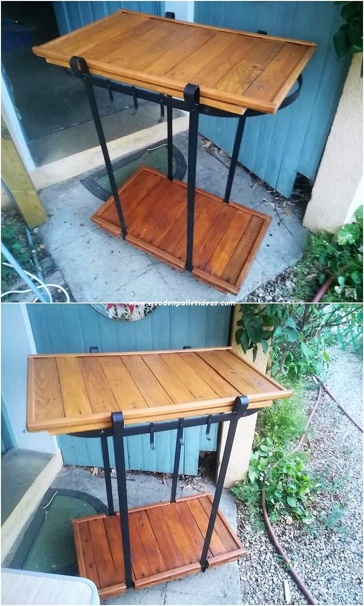 Palle Shelving Table