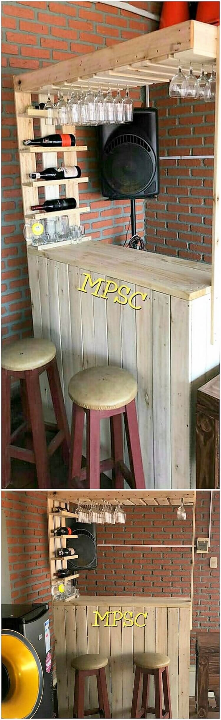 Inspiring Diy Wooden Pallet Ideas For Your House Wooden Pallet Ideas