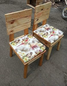 Pallet Chairs Plan