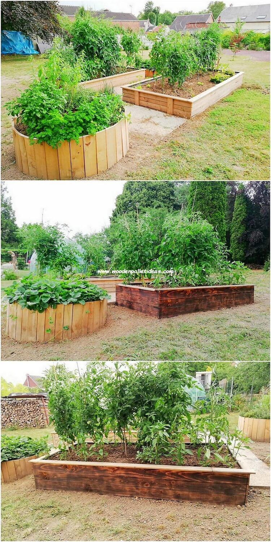 Pallet Garden Planters