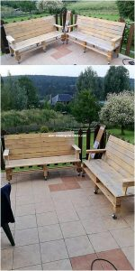 Pallet Outoor Benches