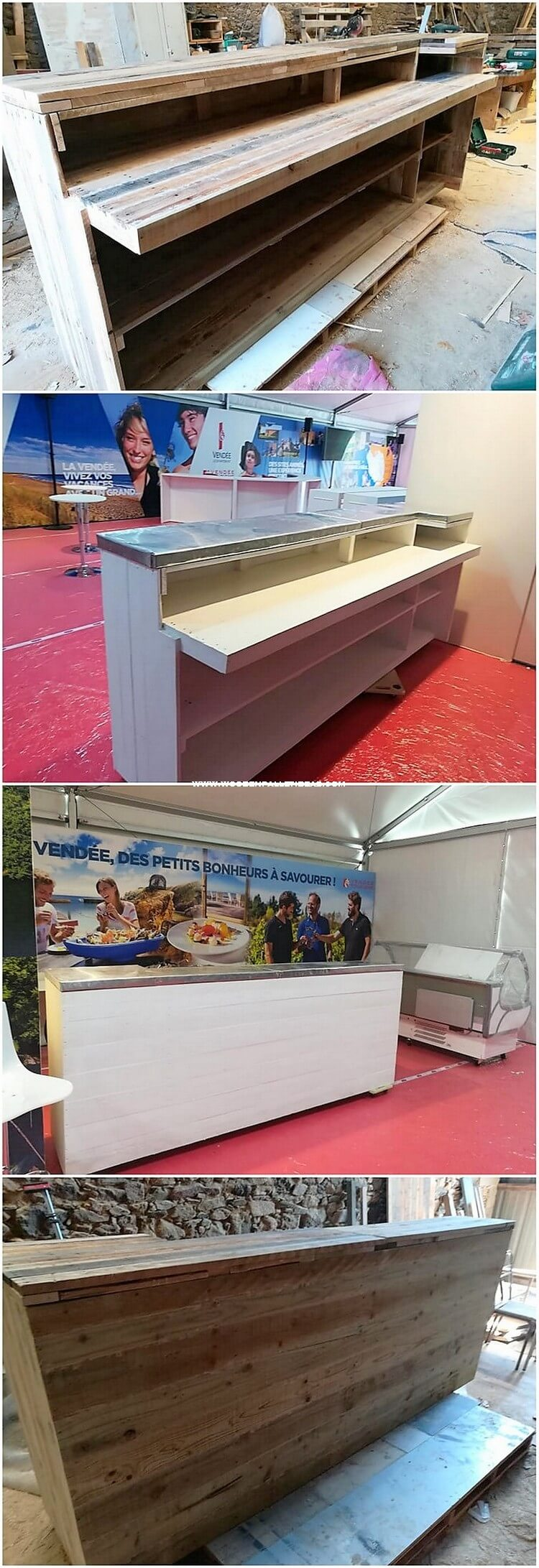 Pallet Reception Desk Counter