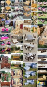 Superb Ideas of How to Recycle Old Wooden Pallets