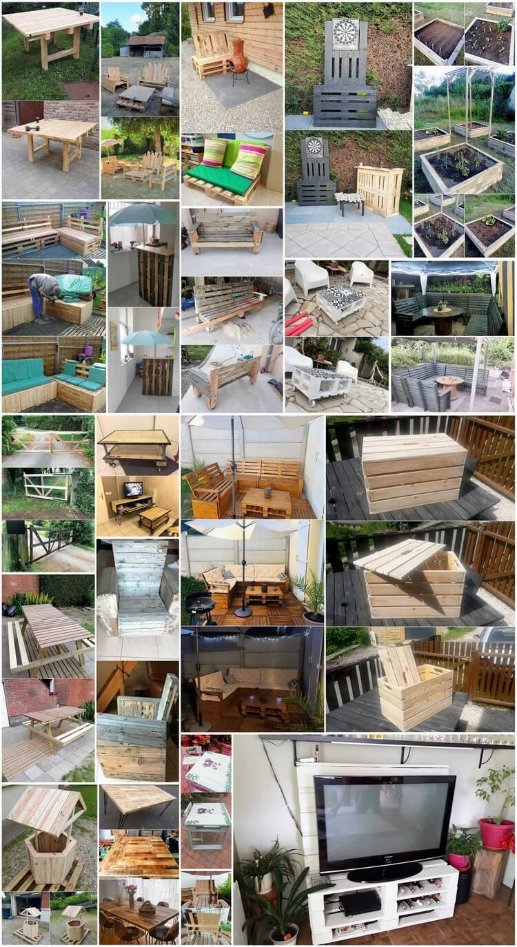 Wonderful Ideas Out of Recycled Wooden Pallets