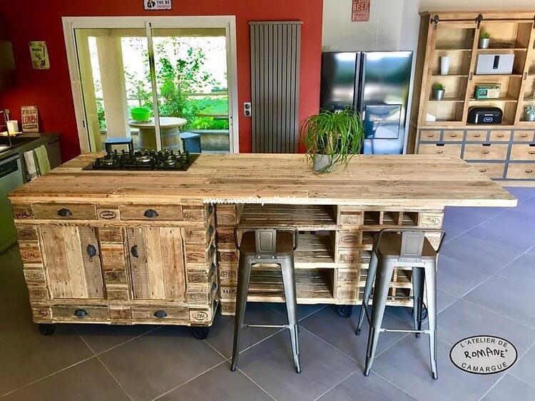 Wood Pallet Kitchen Table