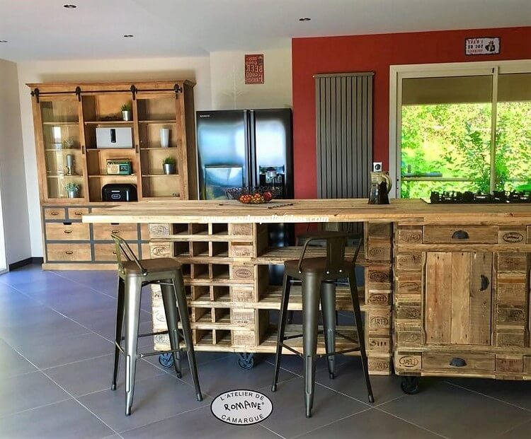 Wooden Pallet Kitchen Table