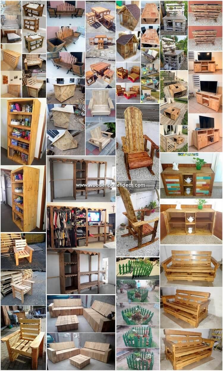 Amusing DIY Wooden Pallet Reusing Ideas