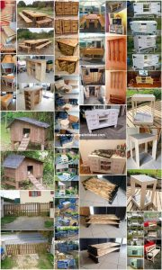 Brilliant Ideas for Reusing Old Wood Pallets