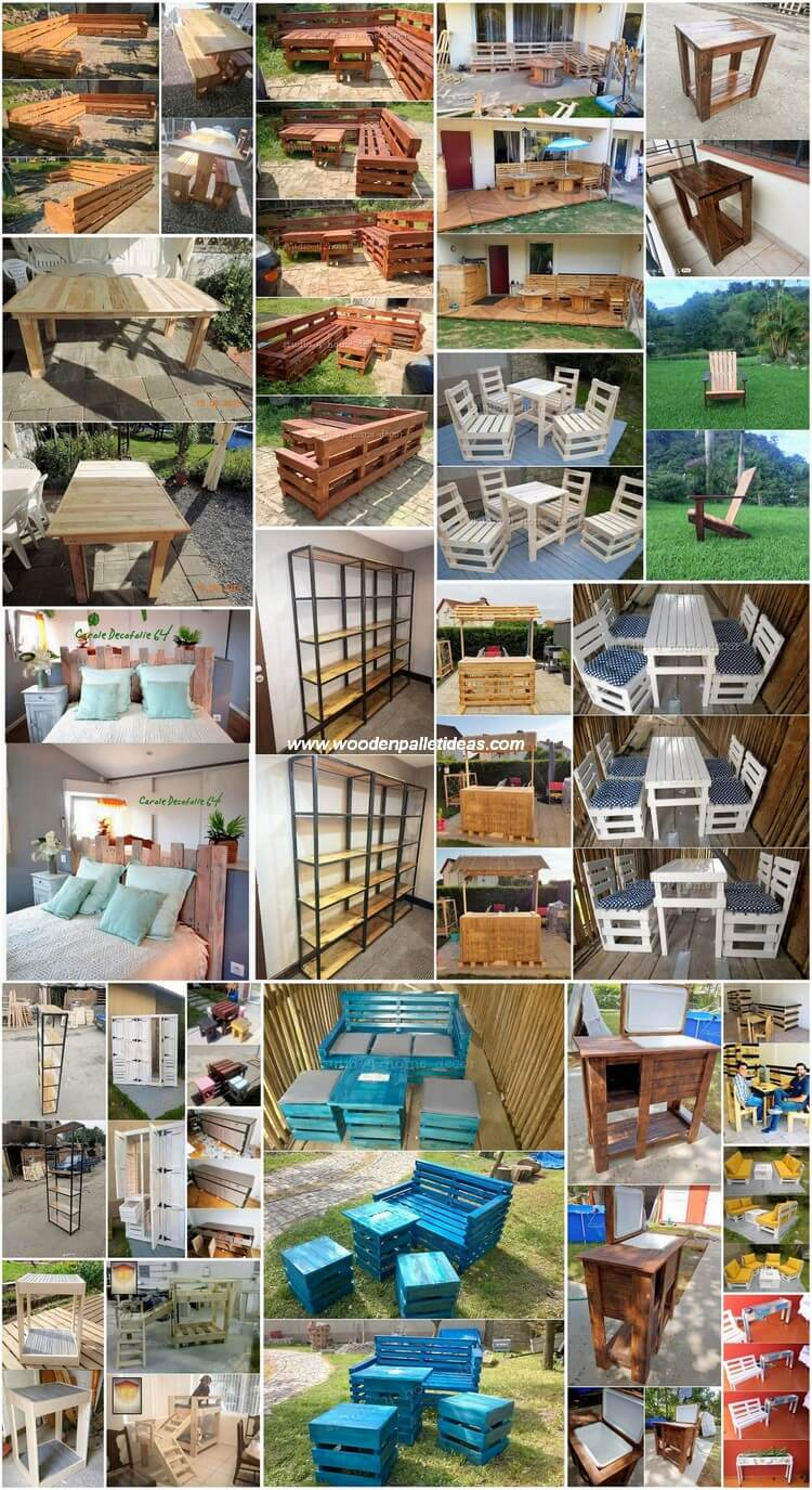 Creative Ways to Reuse Old Wooden Pallets