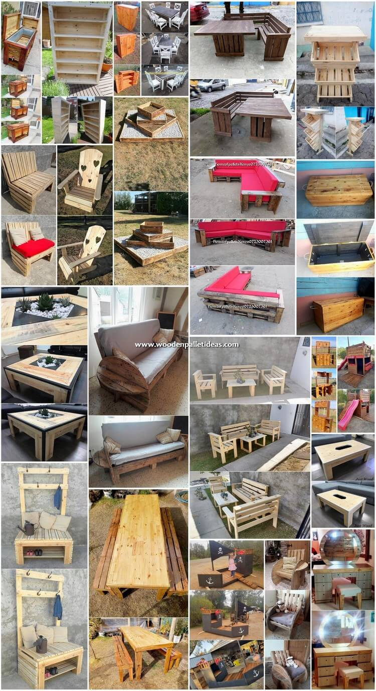 Enchanting Ideas for Recycling Old Wood Pallets