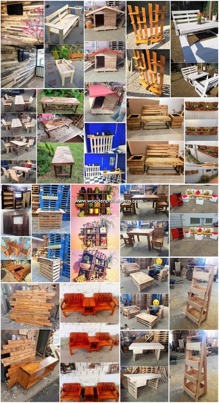Motivational Wooden Pallets Repurposing Ideas
