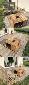 Palle Garden Bench and Table