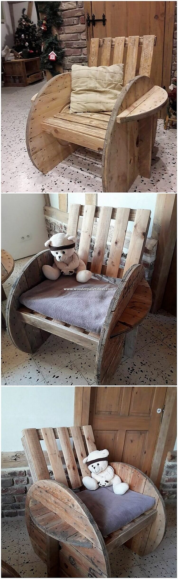 Pallet Chair for Kids