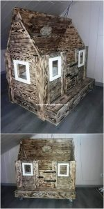 Pallet Doll House