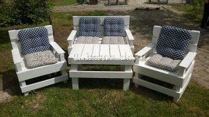 Pallet Garden Furniture (2)