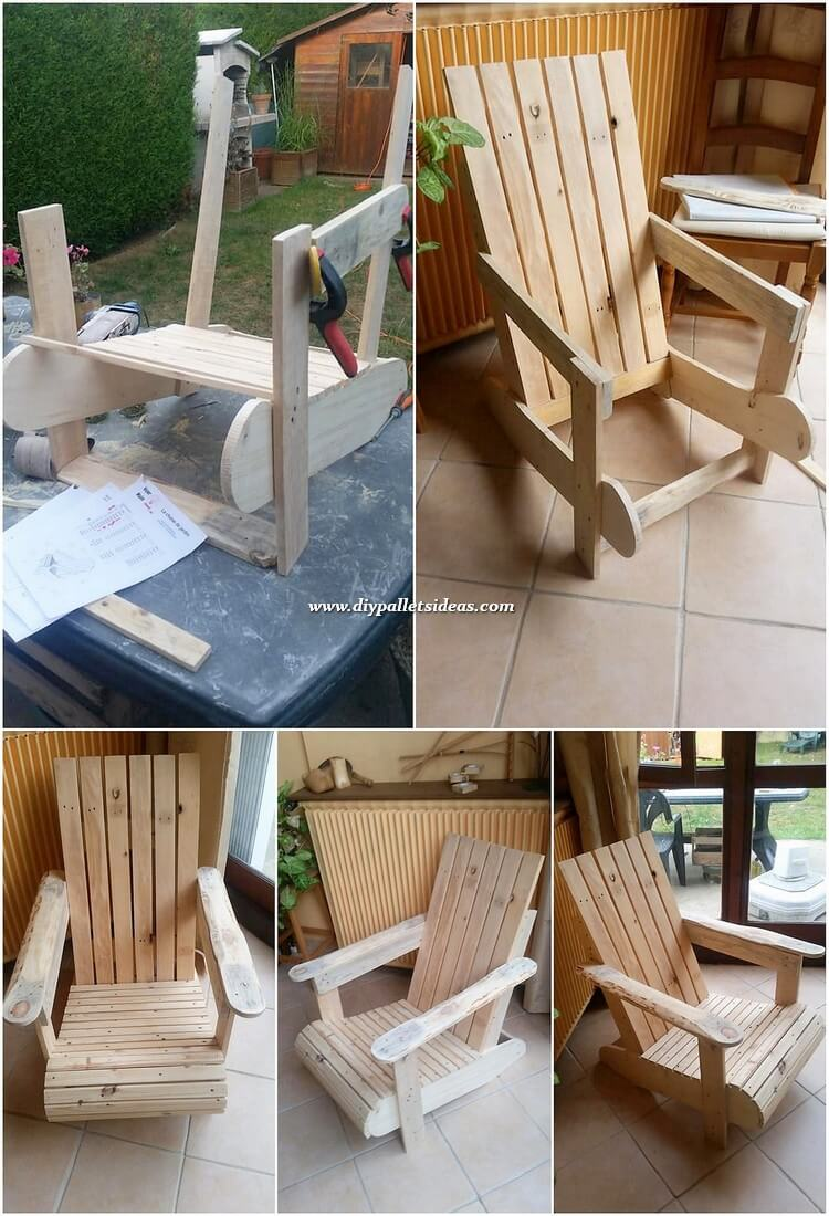 DIY Pallet Chair