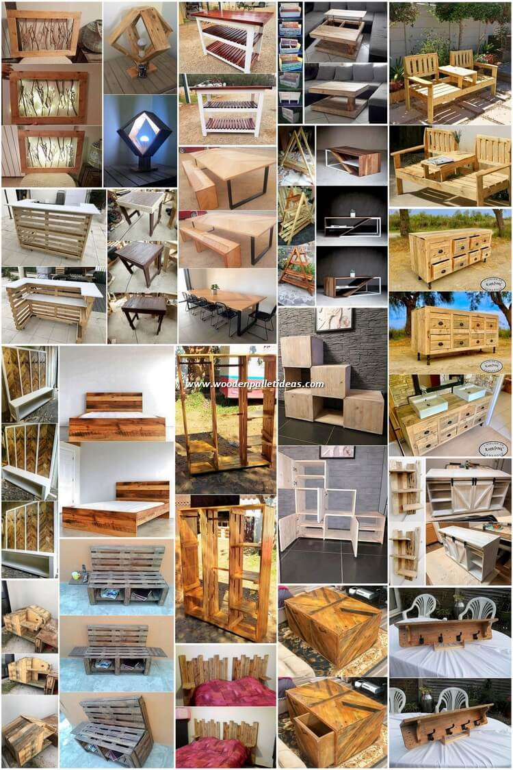 Genius Ideas Out of Recycled Wood Pallets