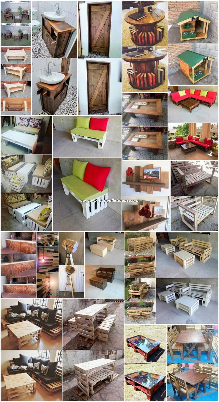 Modern and Stylish Wood Pallet Creations and Designs