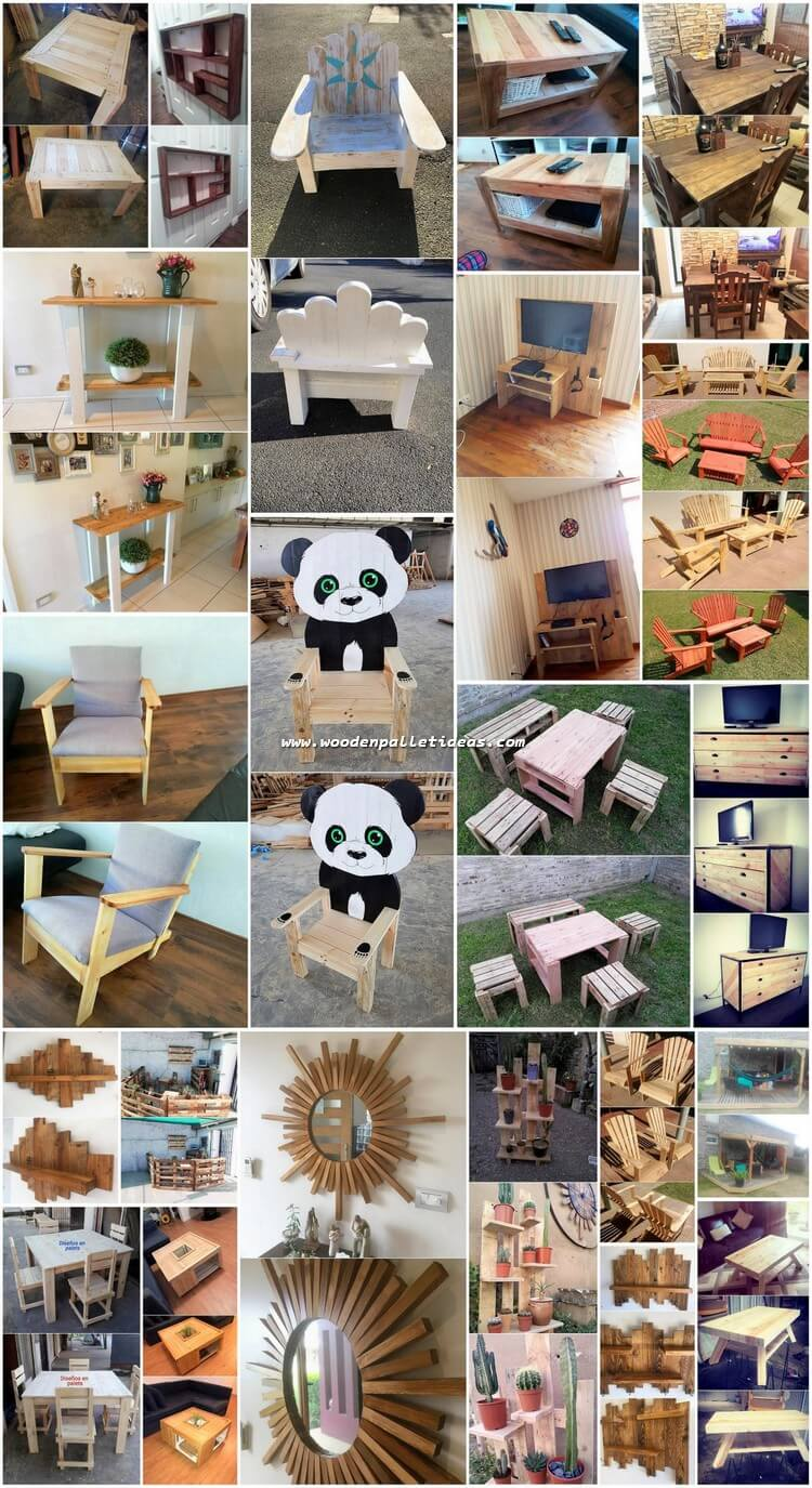 Most Famous DIY Wooden Pallet Projects and Plans