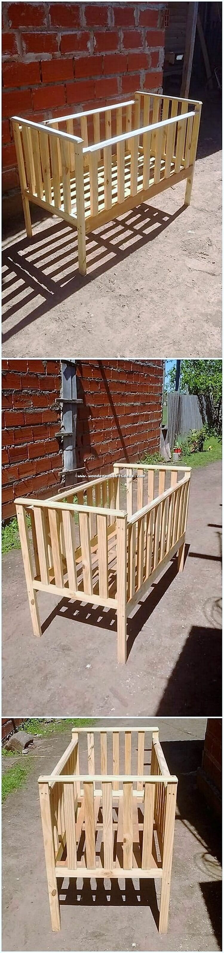 Pallet Bed for Babies