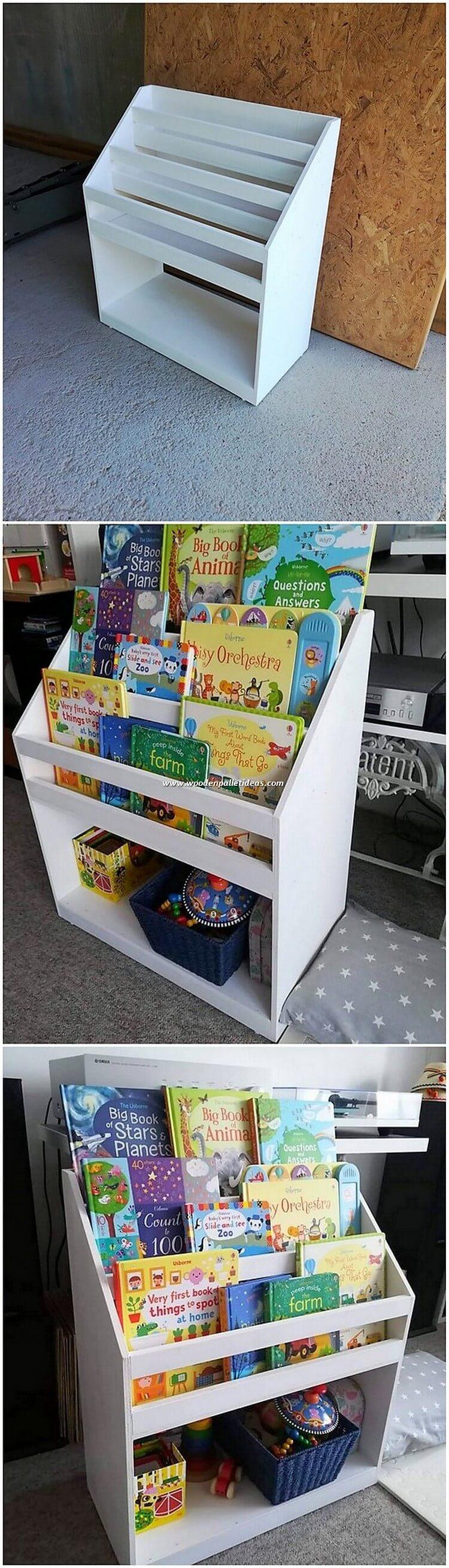Pallet Bookstorage