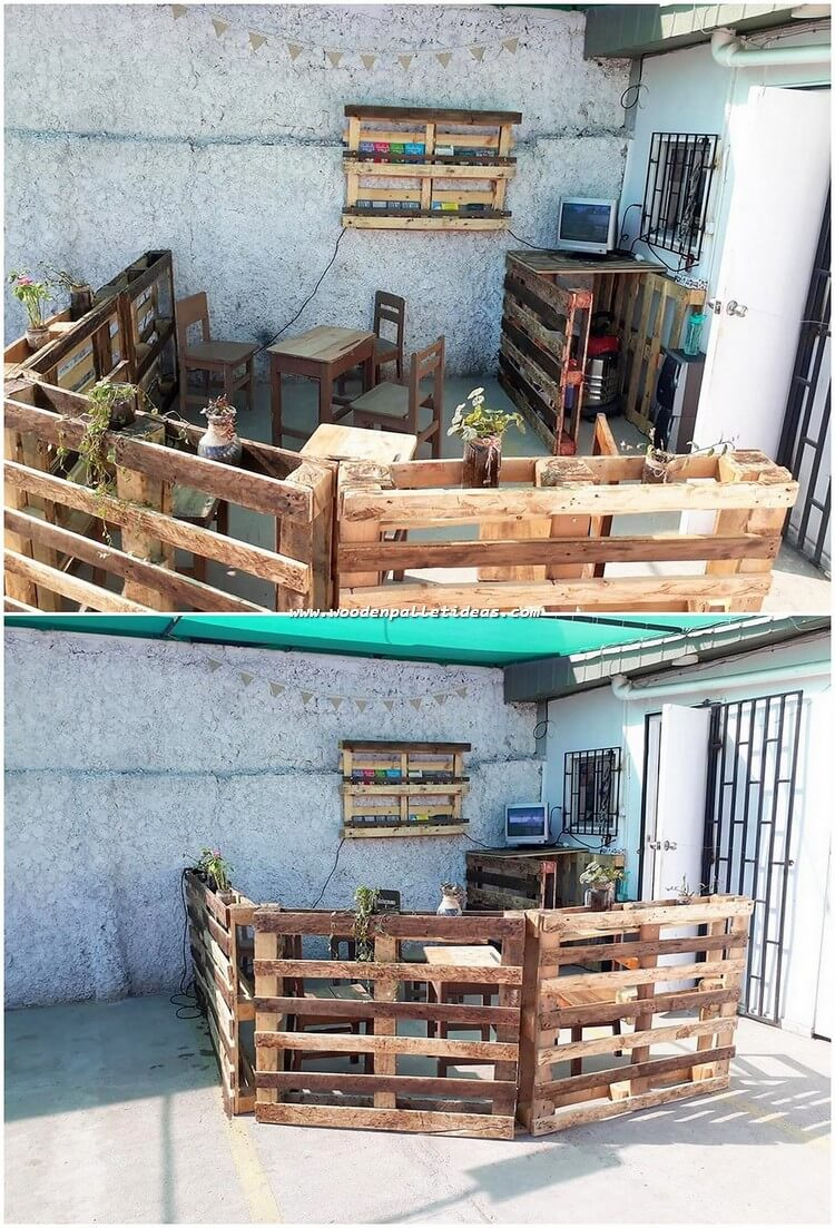 Pallet Outdoor Furniture and Fence