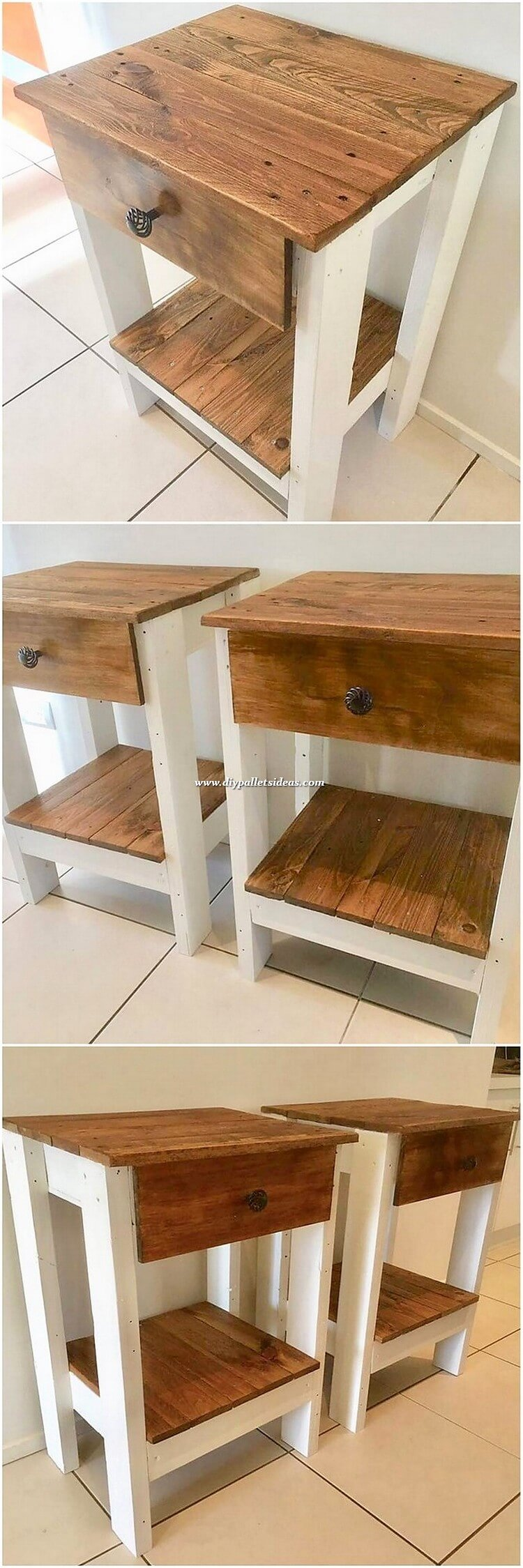 Pallet Side Tables