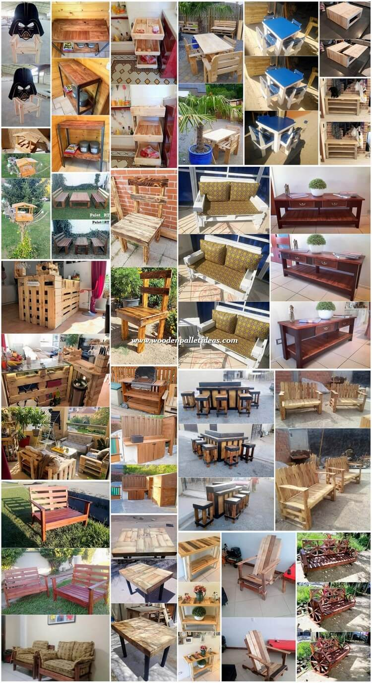 Perfect Ideas to Reuse Wasted Wood Pallets