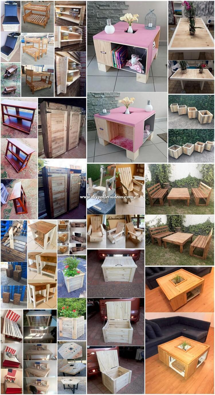 Some Interesting DIY Projects with Recycled Pallets