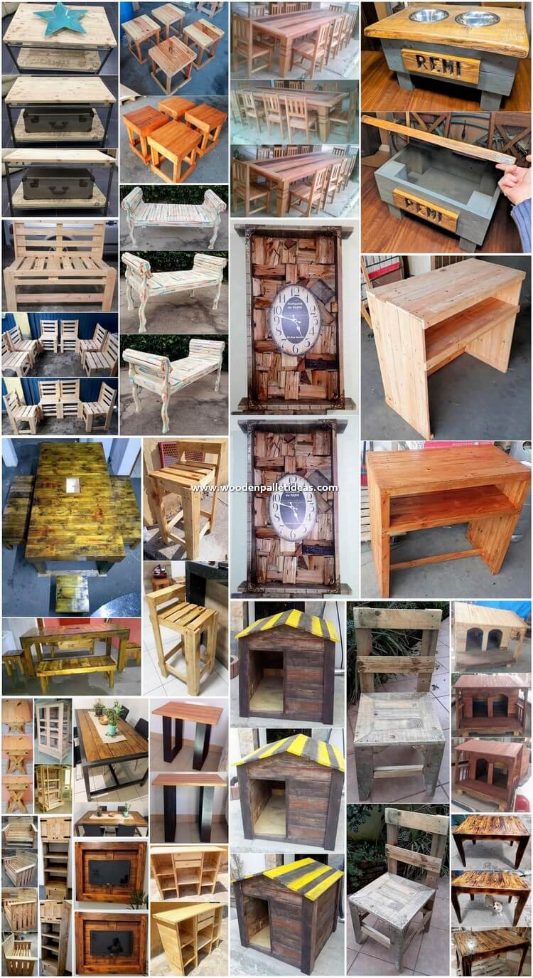 Outclass Recycled Wooden Pallet Projects for the Home