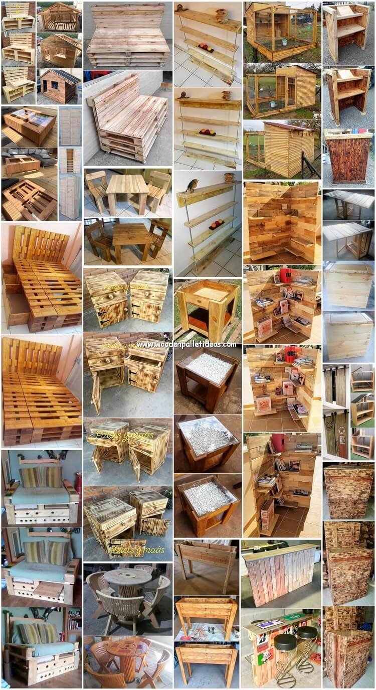 25 Ways Of Turning Old Pallets Into Unique Creations