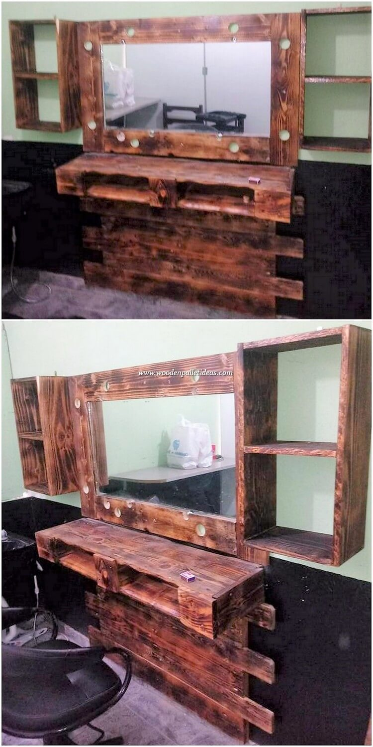 Pallet Dressing Creation