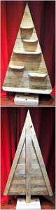 Recycled Wooden Pallet Christmas Tree