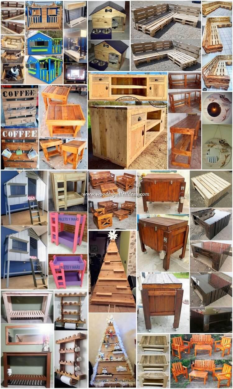 Wonderful Pallet Furniture DIY Projects
