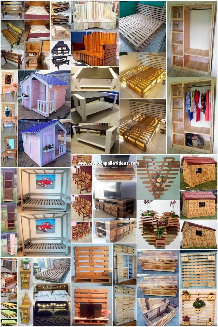 Creative Pallet DIY Ideas and Projects